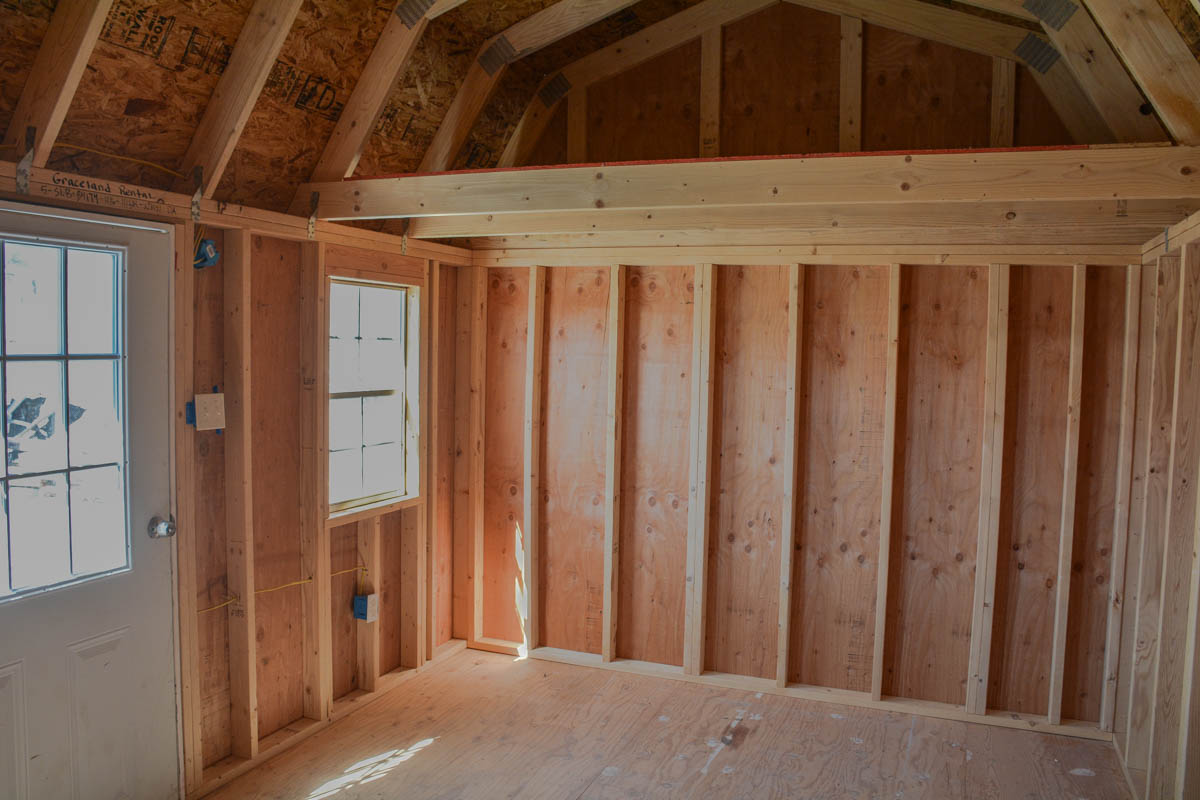 Just In 10 215 16 Side Lofted Barn Repo