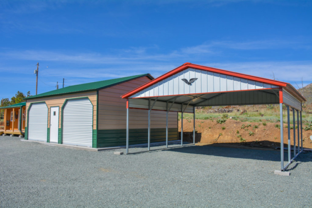 product ad h x carport w loafing shed l kingdom sheds