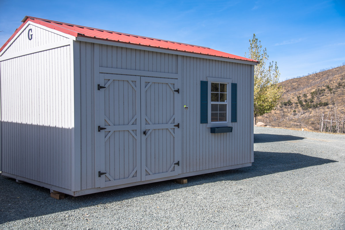 Alto portable buildings graceland storage sheds eagle for Sheds and barns
