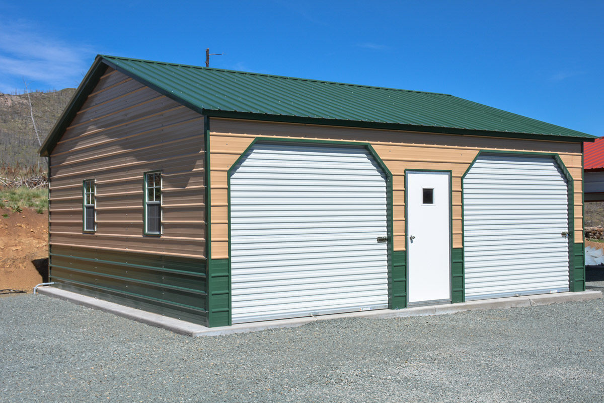 Do It Yourself Home Design: Enclosed Garages Alto Portable Buildings Alto Portable