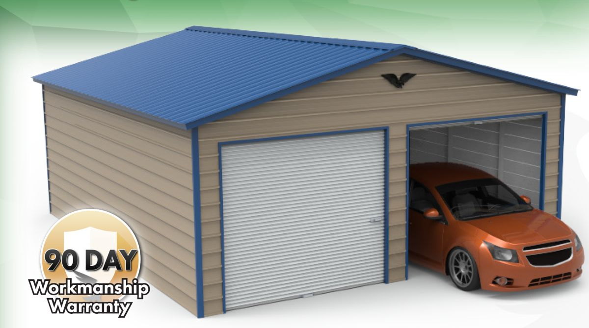 Enclosed Garages Alto Portable Buildings Alto Portable