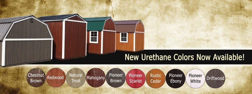 New Color Options On Graceland Portable Buildings Alto