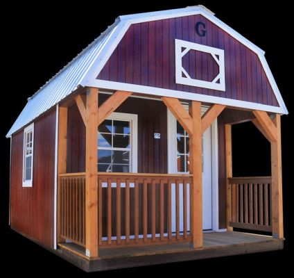 Lofted Barn Cabin Alto Portable Buildings Alto Portable Buildings