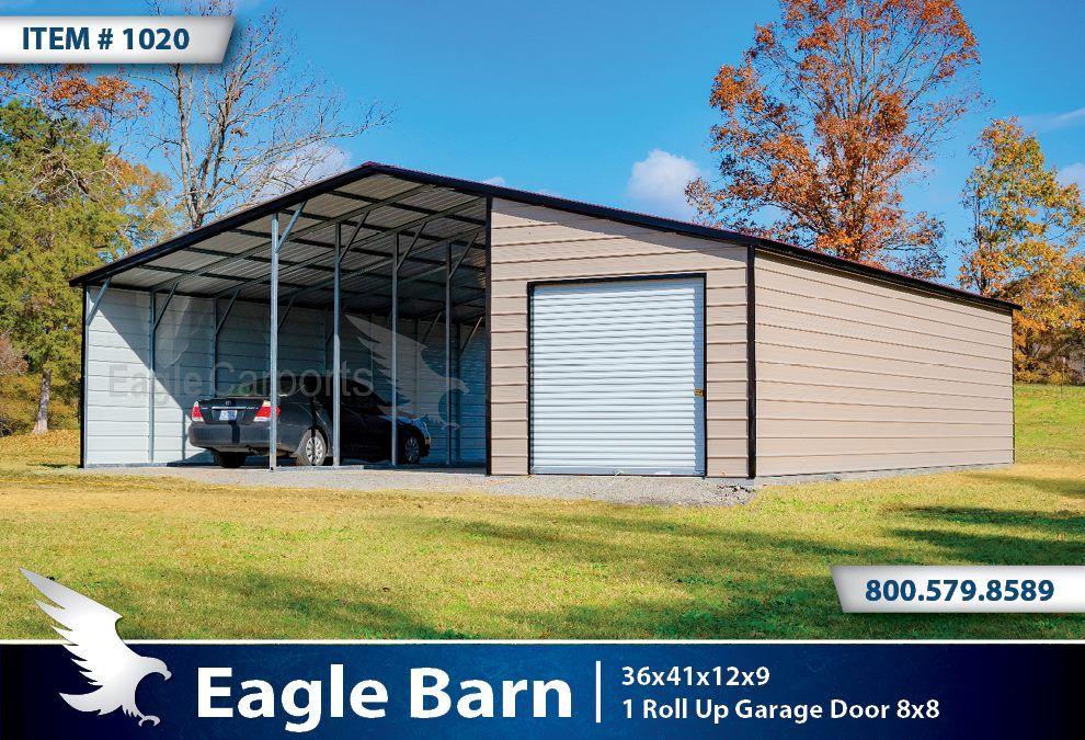 Metal Barns – from Eagle Carports Alto Portable Buildings ...