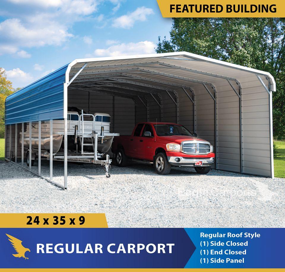 Carports Garages Barns And Utility Buildings Eagle Has It Alto Portable Buildings Alto